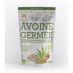 Avoine germée - Chanvre & Raisins secs