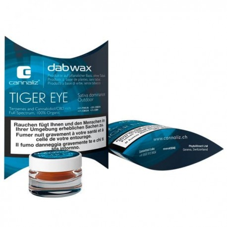 Tiger Eye DabWax 25%